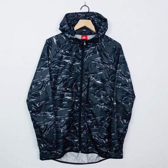Nike Packable Camo Trail Jacket Windbreaker